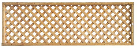 Highgrove Timber Square Trellis Panel (h)1.83m(w)0.32 M