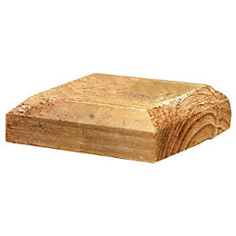 Grange Timber Pressure Treated Post Cap (W)120mm (D)120mm