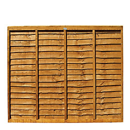 Professional Overlap Fence Panel (W)1.83m (H)1.5m, Pack of