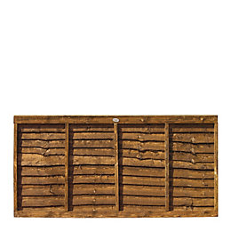 Professional Overlap Fence Panel (W)1.83m (H)900mm, Pack of