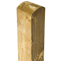 Grange Green Timber Fence Post (H)2.4m, Pack of