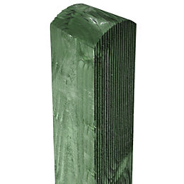 Grange Pre-Painted Green Timber Fence Post (H)1.8m, Pack
