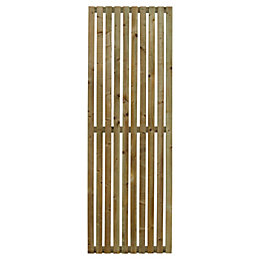 Linear Timber Screen (H)1.8m (W)600mm