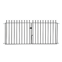 Metpost Metal Ball Top Gate (H)900mm (W)142mm