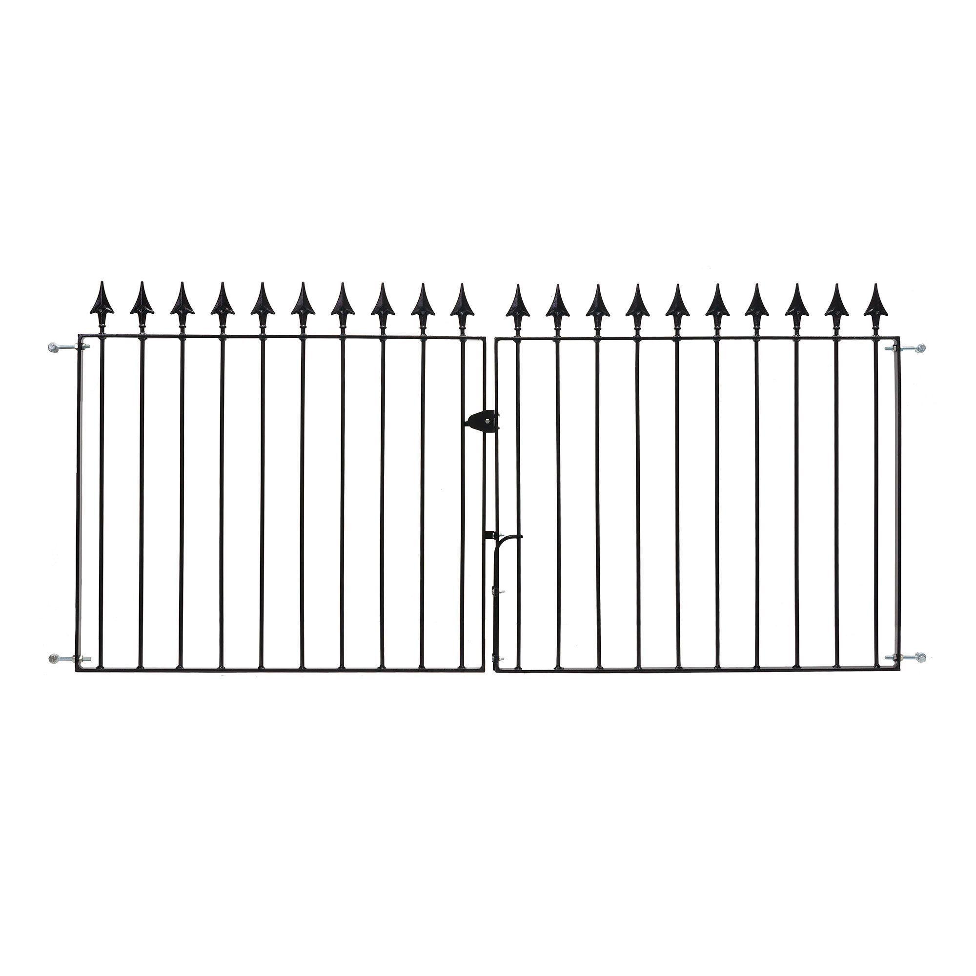 Metpost Metal Spear Top Gate (h)0.935m (w)9.75 M