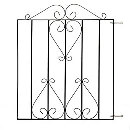 Metpost Metal Scroll Top Gate (H)970mm (W)930mm