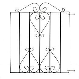 Metpost Metal Scroll Top Gate (H)900mm (W)860mm