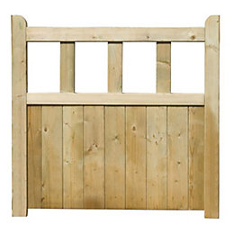 Grange Timber Solid Infill Gate (H)0.9m (W)0.9m