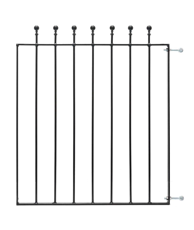Blooma Metal Ball Top Gate (h)0.9m (w)0.77 M
