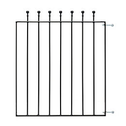 Blooma Metal Ball Top Gate (H)0.9M (W)0.81 M