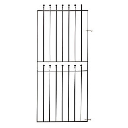 Blooma Metal Ball Top Gate (H)1.8m (W)0.77m