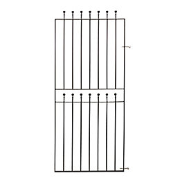 Blooma Metal Ball Top Gate (H)1.8m (W)0.81m