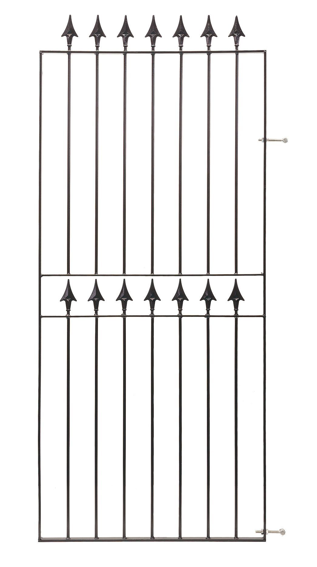 Blooma Metal Spear Top Gate (h)1.83m (w)0.77 M