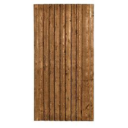 Grange Timber Weston Closeboard Gate (H)1.8m (W)0.9m