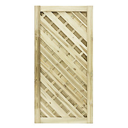 Grange Timber Elite Chevron Gate (H)1.8m (W)0.9m