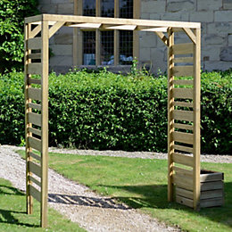 Grange Fencing Urban European Softwood Square Top Garden