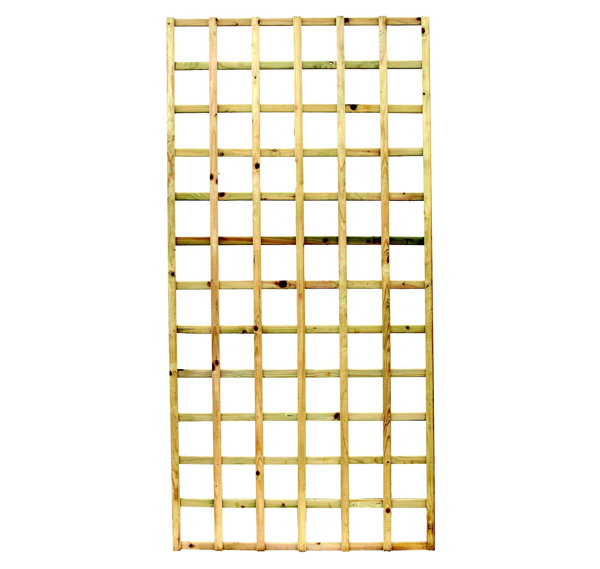 Elite Timber Square Trellis Panel (h)1.83m(w)0.32 M