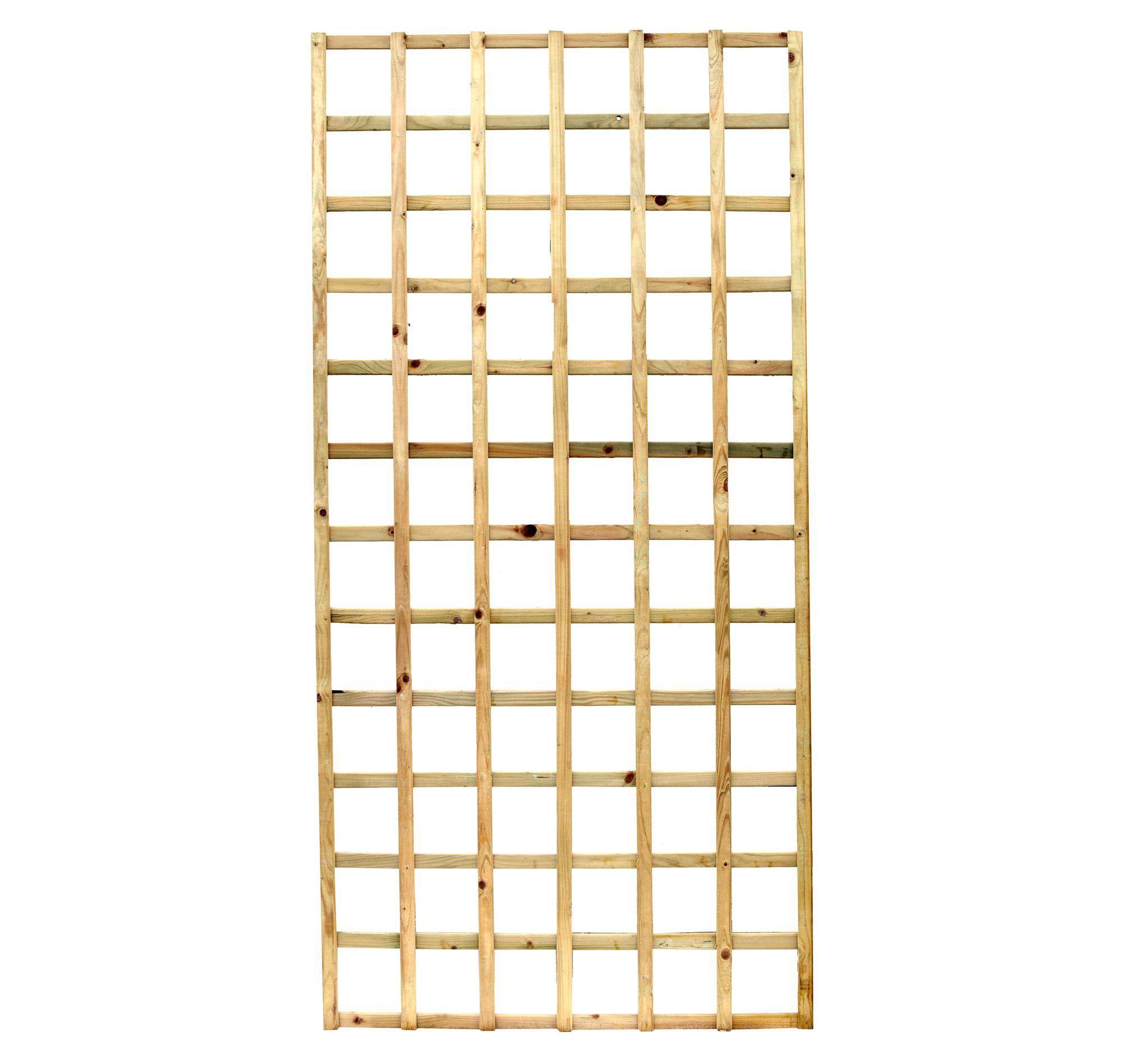 Elite Timber Square Trellis Panel (h)1.83m(w)0.9 M