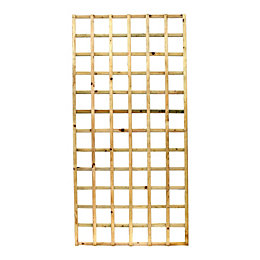 Elite Timber Square Trellis Panel (H)1830mm (W)900mm