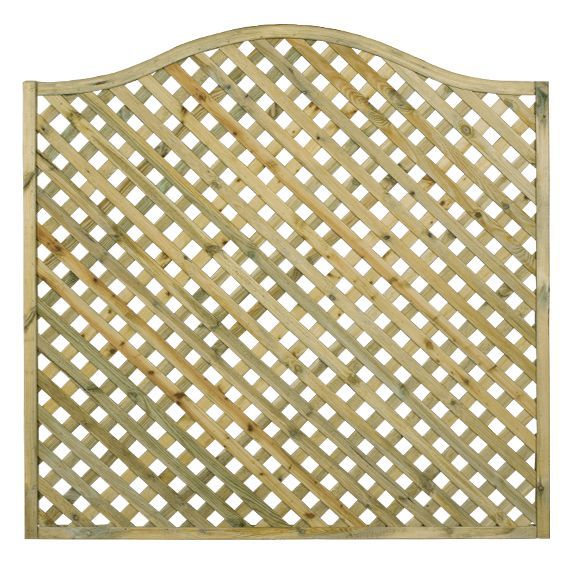 Woodbury Timber Lattice Trellis Panel (h)0.6m(w)1.8 M