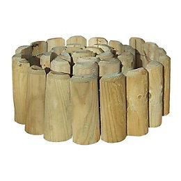 Grange Timber Log Edging Pack of 1