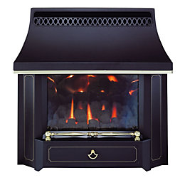 Valor Black Beauty Black Slide Control Outset Gas