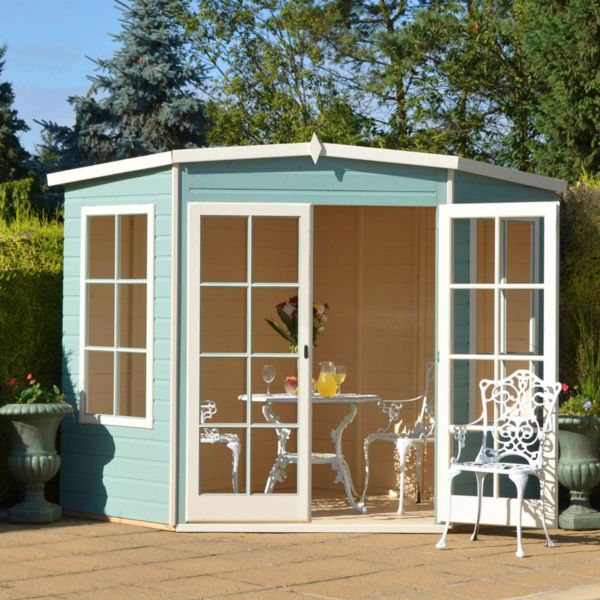 Sheds cabins summerhouses outdoor garden for Summer homes builder
