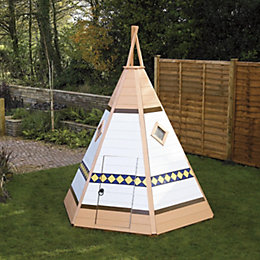 6X4 Wigwam Playhouse with Assembly Service