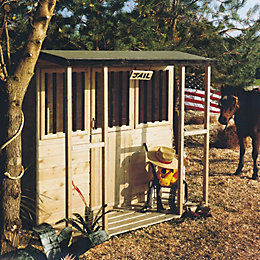 6X4 Jailhouse Playhouse with Assembly Service