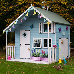 7X8 Crib Playhouse with Assembly Service
