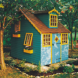 Cottage 8X6 Playhouse - with Assembly Service