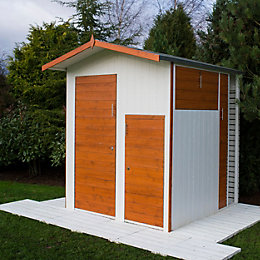 6X6 Multi Store Apex Shiplap Wooden Shed
