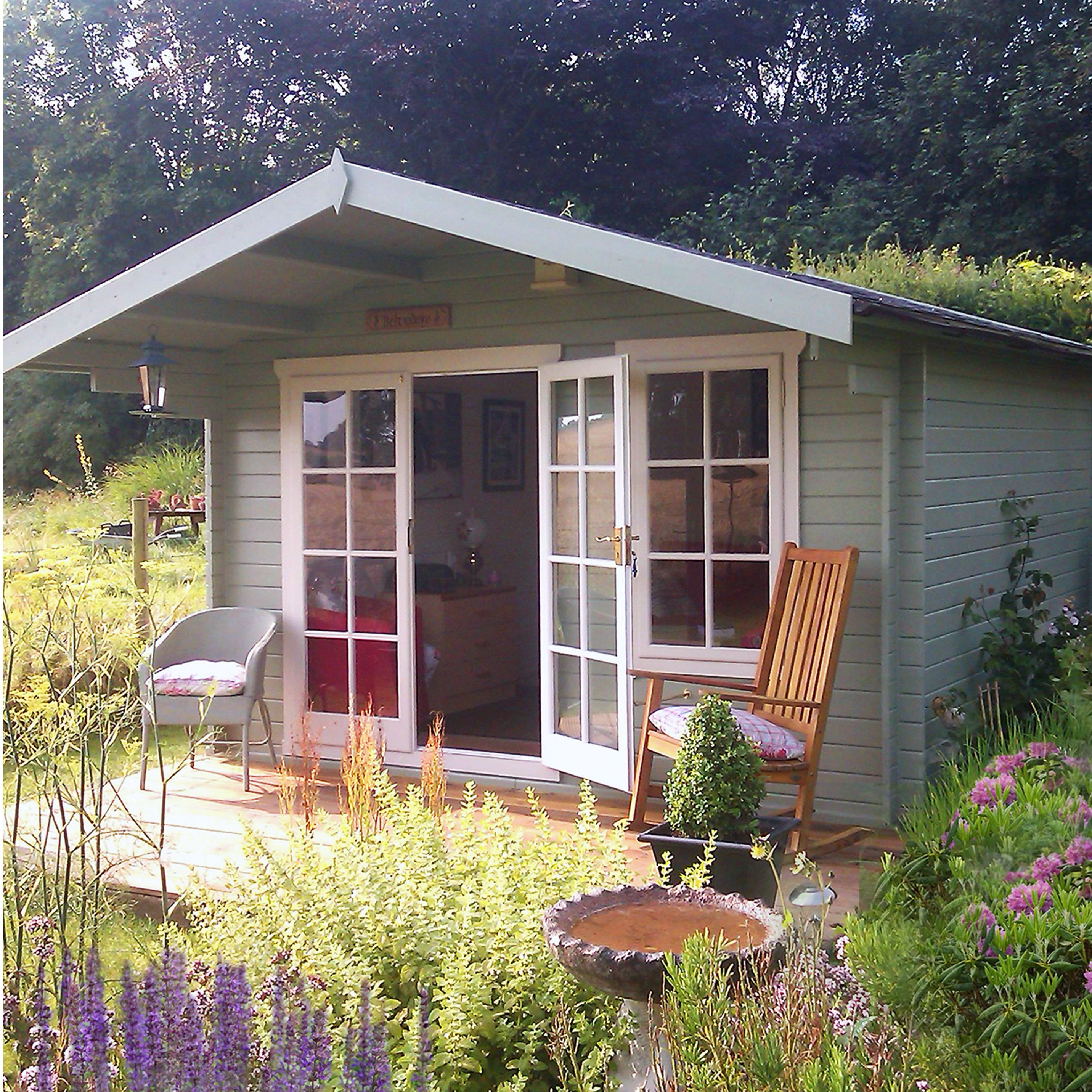 Diy Sheds For Sale: 10X8 Cannock 28mm Tongue & Groove Timber Log Cabin