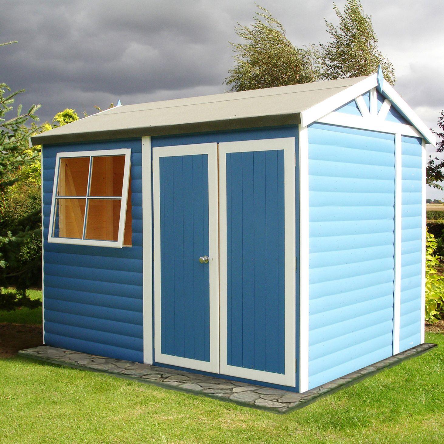 10x7 mammoth loglap timber shed departments diy at b q. Black Bedroom Furniture Sets. Home Design Ideas