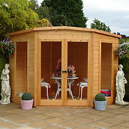 8X8 Barclay Shiplap Timber Summerhouse