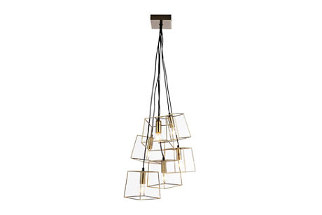 Jules Brass Ceiling Light