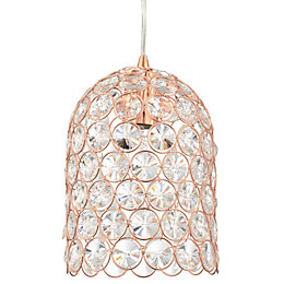 Elize Copper Effect Pendant Ceiling Light