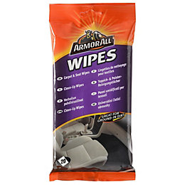 Armor All Carpet & Seat Wipe, Pack of