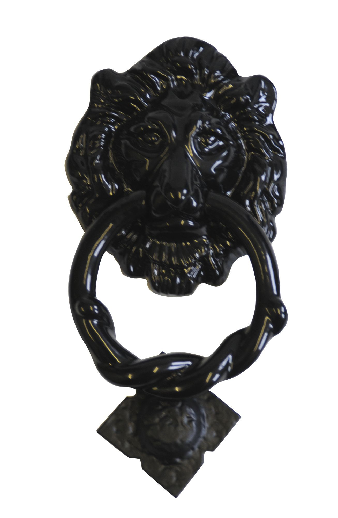 Classic Lion Iron Door Knocker