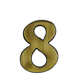 Metal 60mm House Number 8