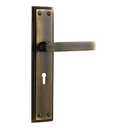The House Nameplate Company Straight Door Handle, Pack