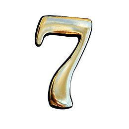 Brass House Number 7