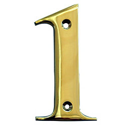 Brass House Number 1
