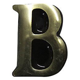 Brass House Letter B