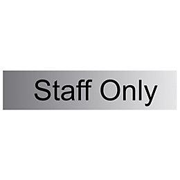 The House Nameplate Company PVC Self Adhesive Staff