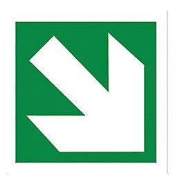 The House Nameplate Company PVCu Self Adhesive Diagonal
