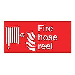 The House Nameplate Company PVC Self Adhesive Fire