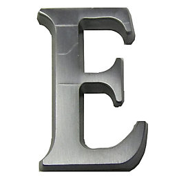Aluminium House Letter E