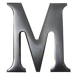 Aluminium House Letter M