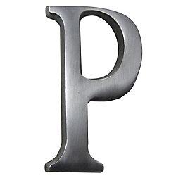 Aluminium House Letter P